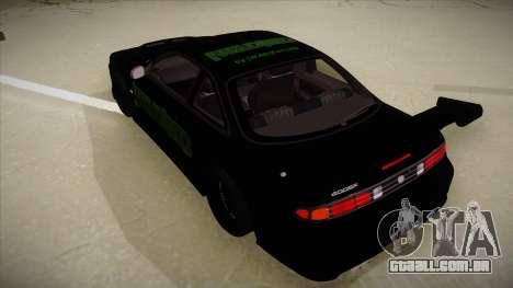 Nissan s14 200sx [WAD]HD para GTA San Andreas vista traseira