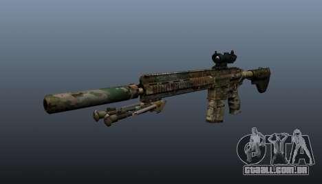 HK417 rifle v2 para GTA 4