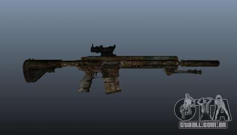 HK417 rifle v2 para GTA 4 terceira tela