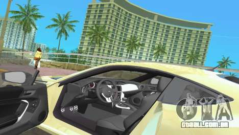 Subaru BRZ Type 1 para GTA Vice City vista inferior