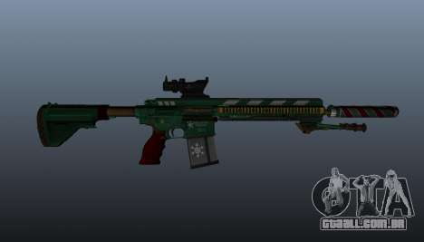 HK417 rifle v3 para GTA 4 terceira tela