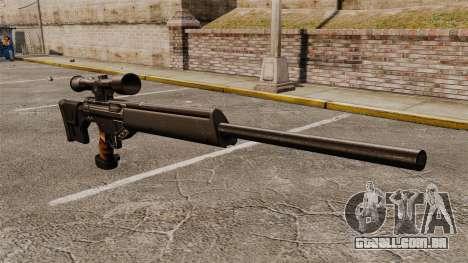Fuzil HK PSG10 para GTA 4