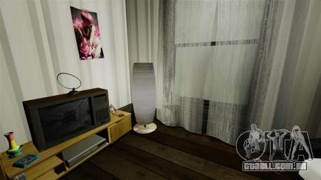 Apartamento elegante Bokhan para GTA 4 por diante tela
