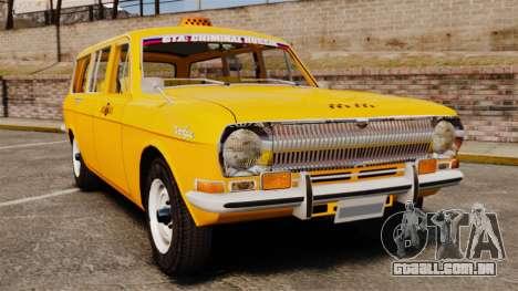 Táxi de Volga GAZ-24-02 para GTA 4