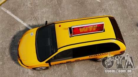 Dodge Grand Caravan 2005 Taxi LC para GTA 4 vista direita