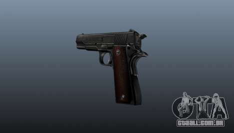 Pistola M1911 v4 para GTA 4 segundo screenshot