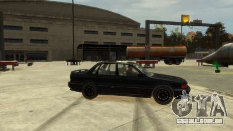 Mitsubishi Galant para GTA 4 esquerda vista