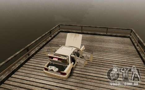 Mitsubishi Galant V2 para GTA 4 vista de volta