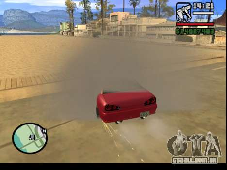 GTA V to SA: Burnout RRMS Edition para GTA San Andreas décimo tela