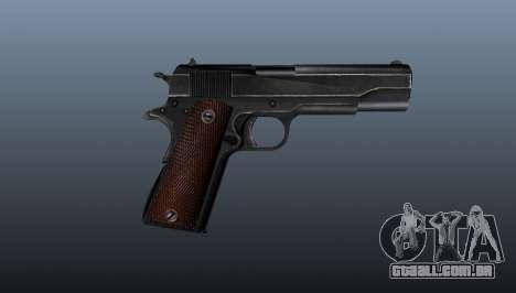 Pistola M1911 v4 para GTA 4 terceira tela