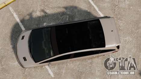 Dinka Honda Odyssey JDM Version para GTA 4 vista direita