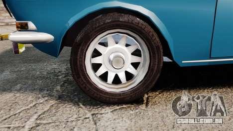 Volga GAZ-2410 v3 para GTA 4 vista de volta