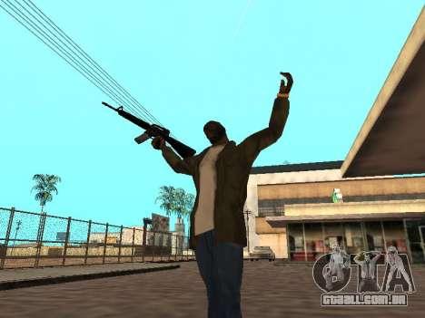 WeaponStyles para GTA San Andreas