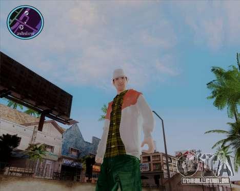 Maccer HD para GTA San Andreas por diante tela