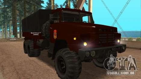 Caminhão escola de condução v. 2.0 para GTA San Andreas esquerda vista