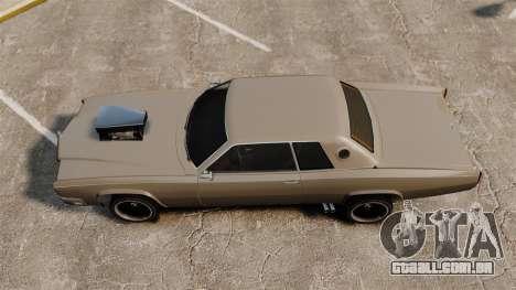 Novo Buccaneer v2 para GTA 4 traseira esquerda vista