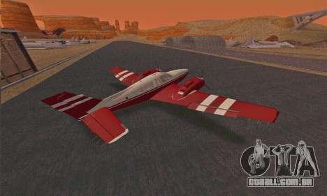Rustler GTA V para GTA San Andreas vista direita