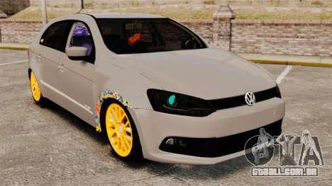 Volkswagen Gol G6 2013 Turbo Socado para GTA 4
