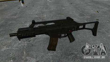 V1 de rifle de assalto HK G36C para GTA 4 terceira tela