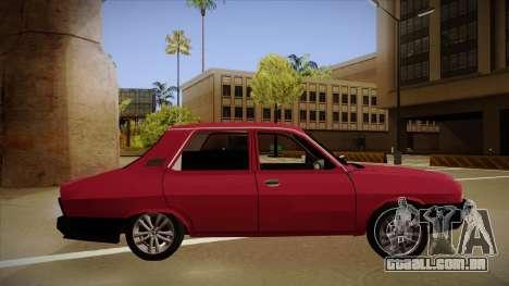 Dacia 1310 Berlina Tuning para GTA San Andreas traseira esquerda vista