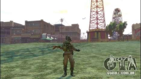 Um soldado russo v 3.0 para GTA 4 quinto tela