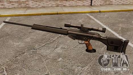 Fuzil HK PSG10 para GTA 4 terceira tela