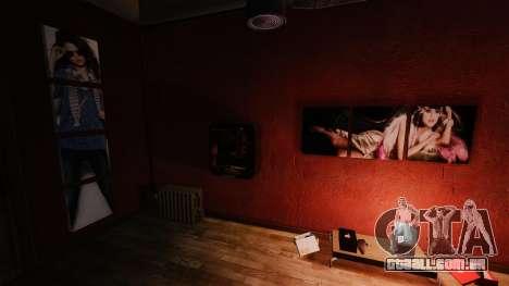 Novos posters no apartamento do Playboy X para GTA 4