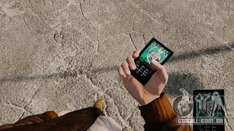 Temas para celular Vampire The Masquerade para GTA 4 por diante tela