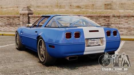 Chevrolet Corvette C4 1996 v2 para GTA 4 traseira esquerda vista