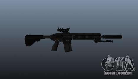 HK417 rifle v1 para GTA 4 terceira tela