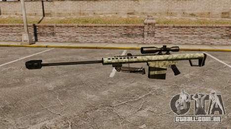 O Barrett M82 sniper rifle v8 para GTA 4 terceira tela