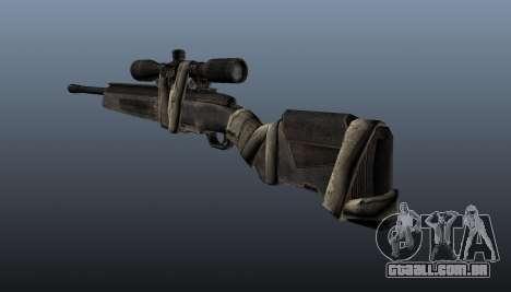 Rifle sniper Steyr Elite para GTA 4 segundo screenshot