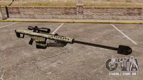 O Barrett M82 sniper rifle v8 para GTA 4