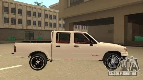 Toyota Hilux 2004 para GTA San Andreas traseira esquerda vista