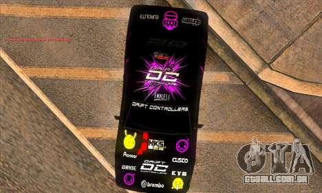 Elegy DC v1 para GTA San Andreas vista traseira