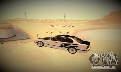 ENBSeries By DjBeast V2 para GTA San Andreas twelth tela