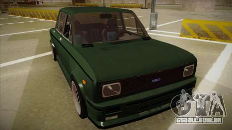 Fiat 128 Europe V Tuned para GTA San Andreas esquerda vista