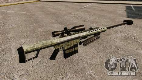 O Barrett M82 sniper rifle v6 para GTA 4 segundo screenshot