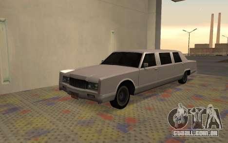 Limusine Driver Parallel Lines de para GTA San Andreas