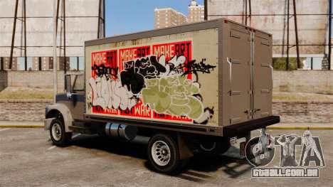 Grafite novo de Yankee para GTA 4 vista de volta