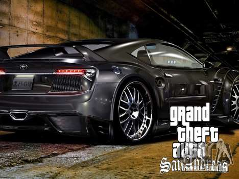 Novas telas de carregamento para GTA San Andreas oitavo tela