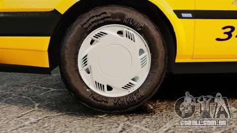 Fiat Tempra SX.A Turkish Taxi para GTA 4 vista direita