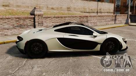McLaren P1 [EPM] para GTA 4 esquerda vista