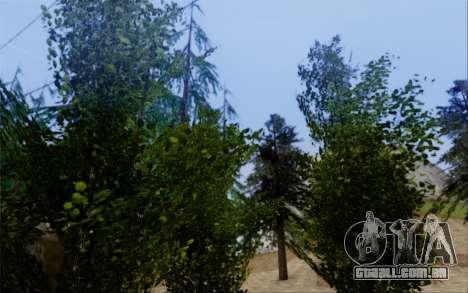 Nova vegetação 2013 para GTA San Andreas nono tela