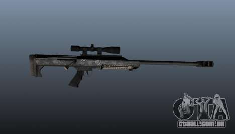 Rifle de sniper Barrett M99 para GTA 4 terceira tela