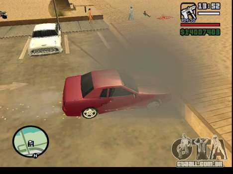 GTA V to SA: Burnout RRMS Edition para GTA San Andreas sexta tela