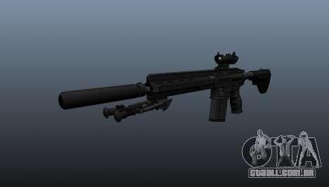 HK417 rifle v1 para GTA 4