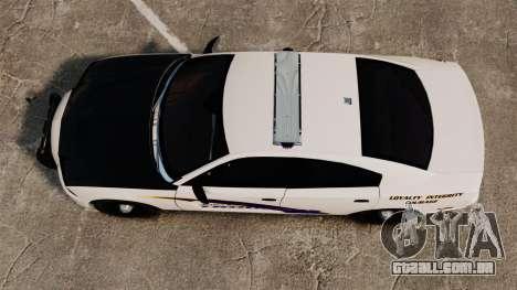 Dodge Charger 2013 AST [ELS] para GTA 4 vista direita