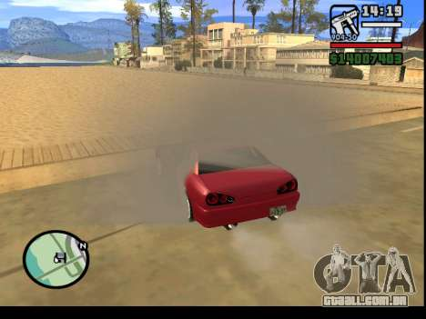 GTA V to SA: Burnout RRMS Edition para GTA San Andreas nono tela