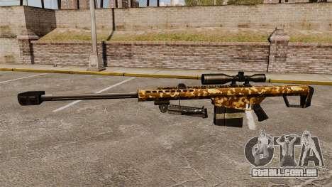 O Barrett M82 sniper rifle v9 para GTA 4 terceira tela